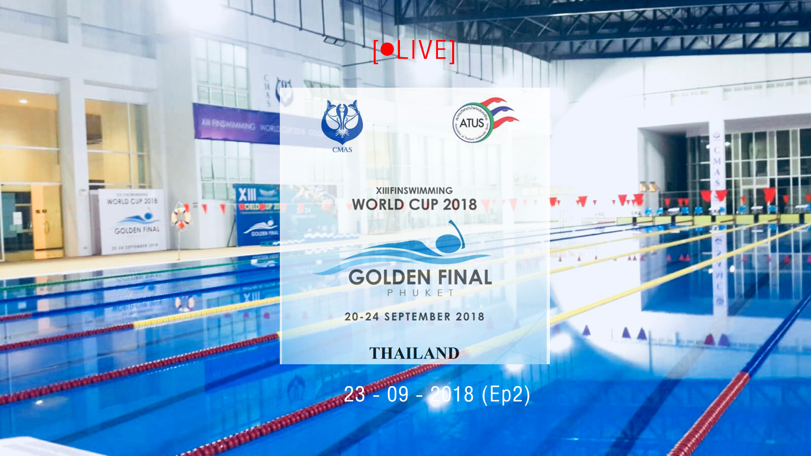 XIII FINSWIMMING WORLD CUP 2018 GOLDEN FINAL day2