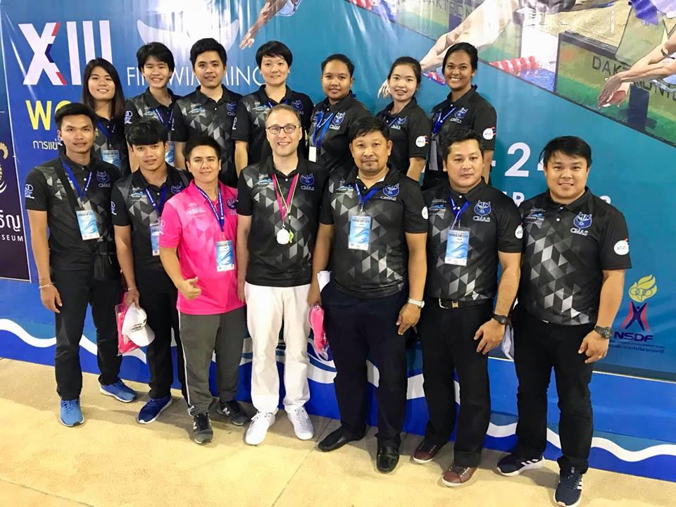 เปิดรับสมัครผู้ตัดสินและผู้ฝึกสอนกีฬาดำน้ำ ฟินสวิิมมิ่ง